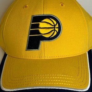 Indiana Pacers Lucas Oil Main Gate Mens Cap Yellow